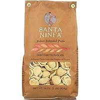 Santa Ninfa Orecchiette Pugliesi Italian Pasta, 1 Pound (Pack of 4), 64 Ounce