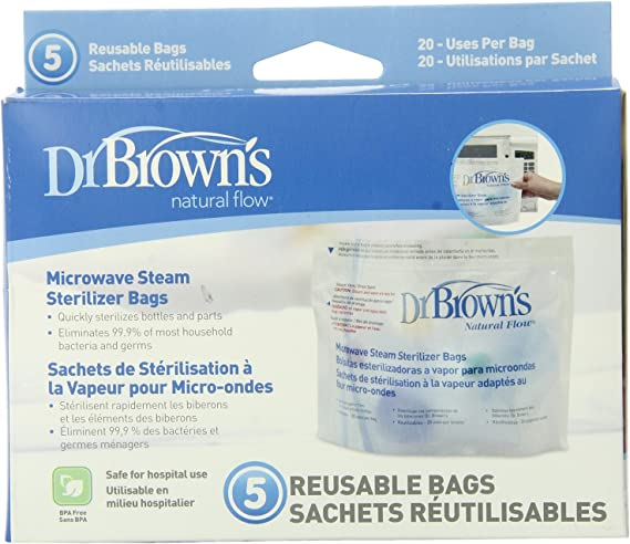Dr. Brown's Microwave Steam Sterilizer Bags