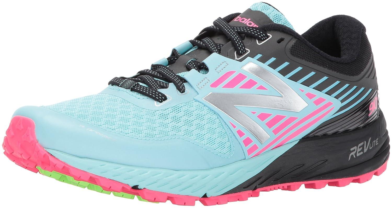 New Balance Women's 910v4 Running Shoe B01NBA6ODP 10.5 D US|Sea Spray/Alpha Pink