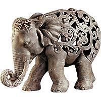 Design Toscano Anjan The Elephant Jali Sculpture