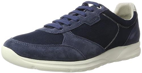 Geox Zapatillas UOMO Cart A Azul Oscuro EU 46 4gDnWaS