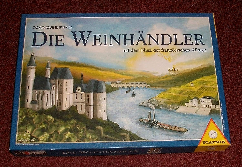 Piatnik Deutschland 640322 - Die Weinhändler - auf dem Fluss der französischen Könige