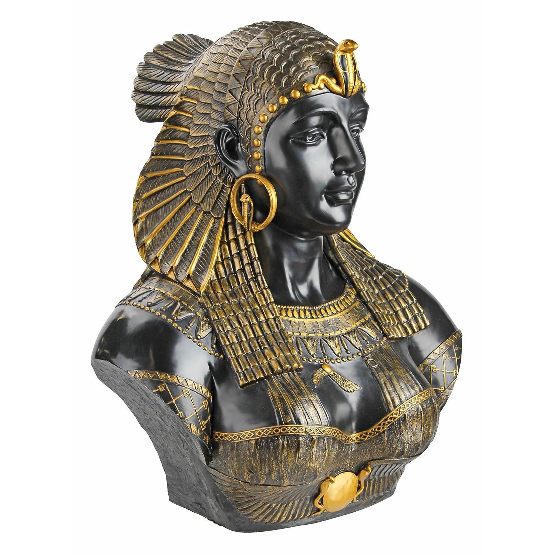 Design Toscano Queen Cleopatra Neoclassical Sculptural Bust WU71550