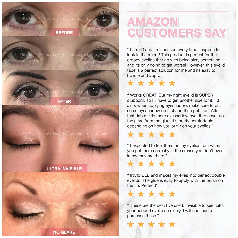 Amazon Beauty Logic Ultra Invisible Fiber Lace Eyelid Lift Kit