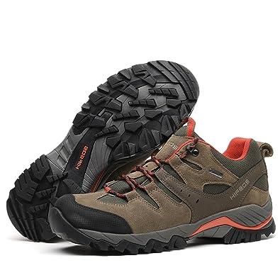 [HIFEOS] トレッキングシューズ メンズ レディース 防水 ローカット 登山靴 28.0cmまで 大きいサイズ