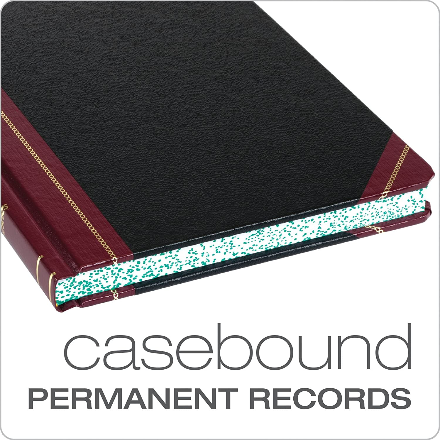 300 Pages Boorum /& Pease Record Book 21 Series Record Ruled 21-300-R 8-1//8 x 10-3//8