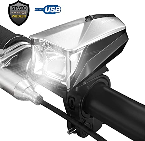 WILDKEN LED Luz Bicicleta Lámpara Impermeable StVZO Luces Ajuste ...