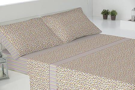 Todomueble Ibiza Juego de Sábanas cama de 150, Algodón-Poliéster, Rosa: Amazon.es: Hogar