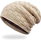 ANVEY Slouch Beanie Hat Berretti in Maglia Cappello Invernale Unisex Caldo Cappello per Sci/Bici/Moto