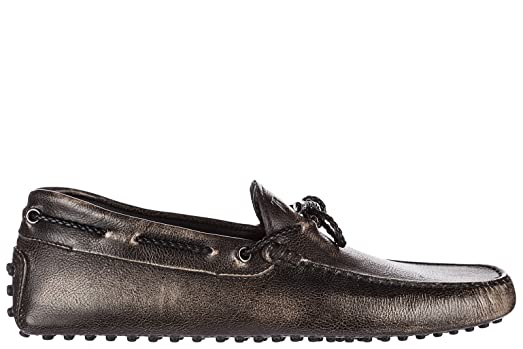 Men's Leather Loafers Moccasins My Colors Gommini 122 Black