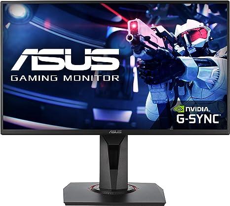 ASUS VG258QR Monitor de juegos de Esports de 25 pulgadas (24.5 pulgadas) FHD (1920 x 1080),