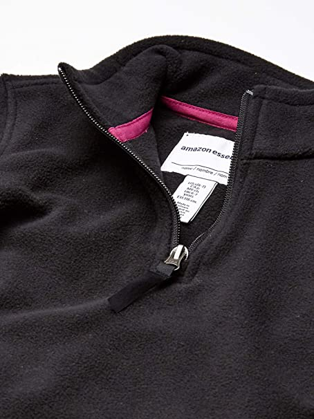 Essentials Girls Full-Zip Polar Fleece Jacket Ni/ñas