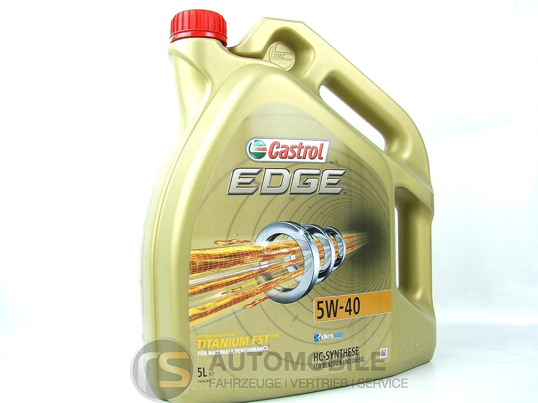 Castrol edge 5W - 40 huile de moteur Castrol Limited 25015