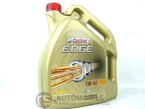 Castrol EDGE Aceite de Motores 5W-40, 5L
