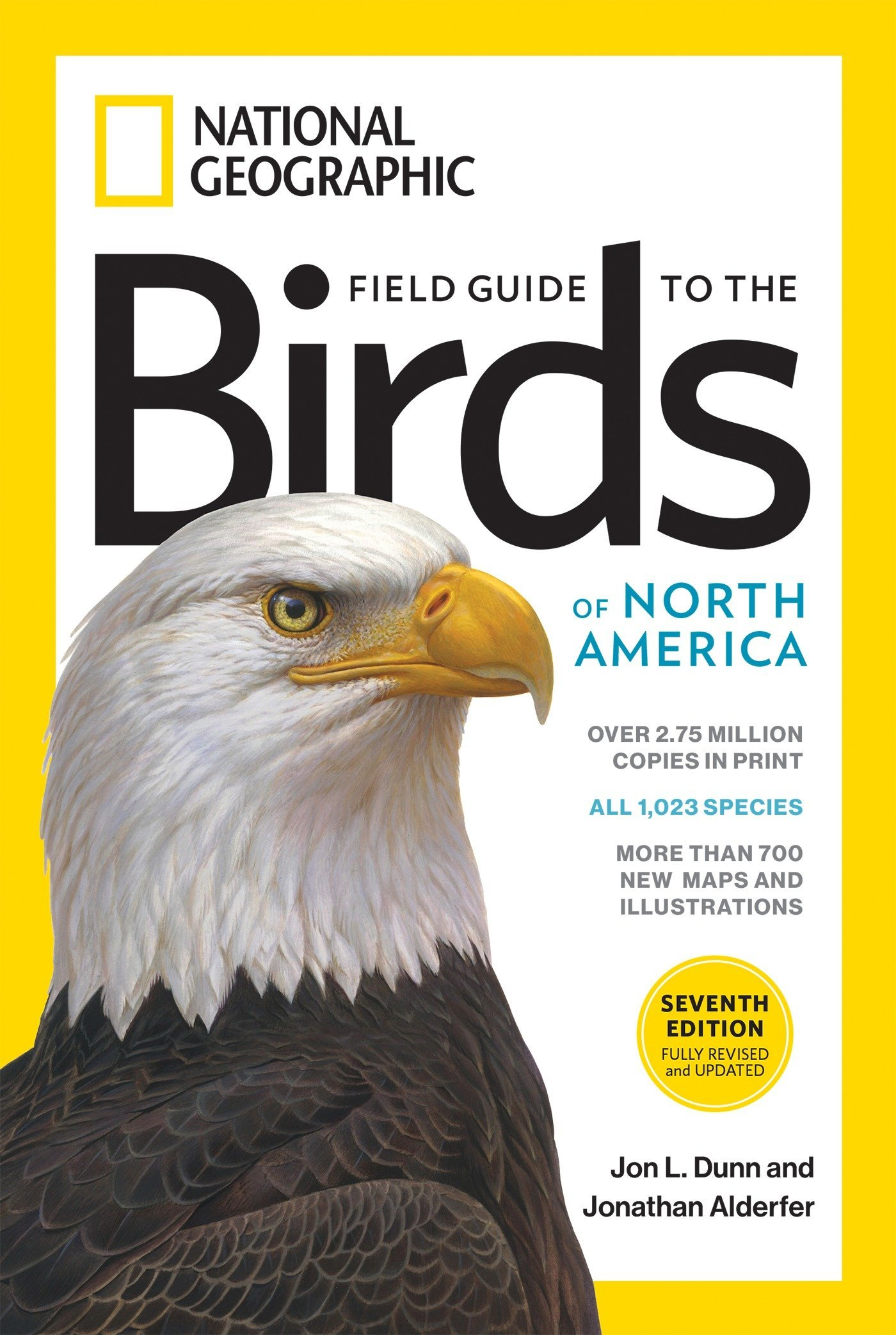 National Geographic Field Guide to the Birds of North America, 7th Edition:  Jon L. Dunn, Jonathan Alderfer: 9781426218354: Amazon.com: Books