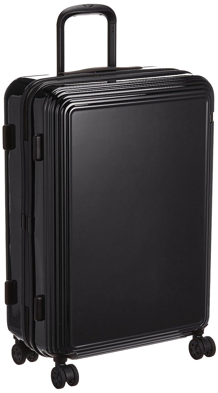 [エース] スーツケース リップルZ ワイヤーコード キャスターストッパー 67L 62cm 4.4kg 06242 B073XDXXG3 ブラック ブラック