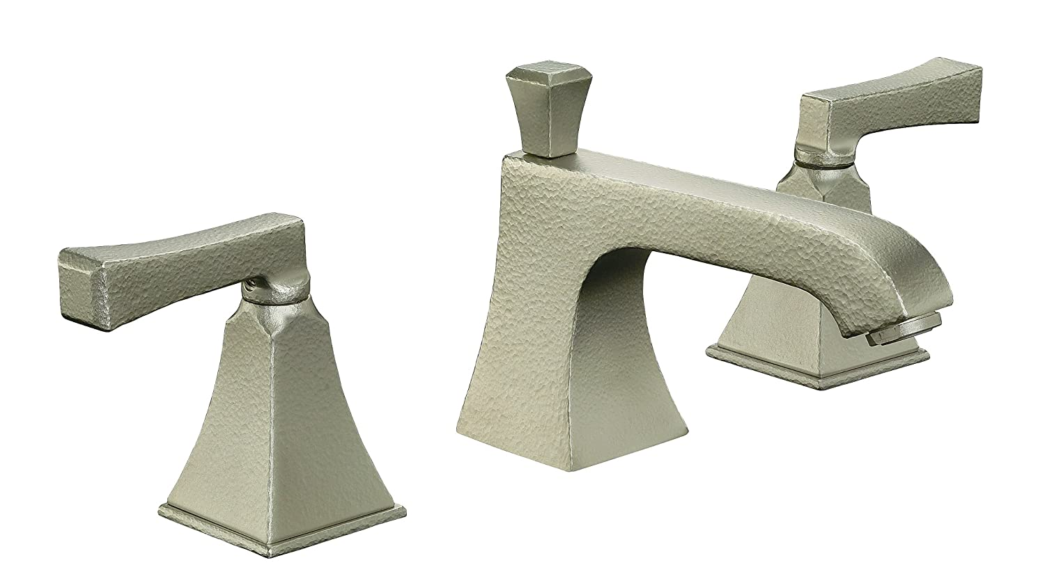 KOHLER K-454-4V-RN Memoirs Widespread Lavatory Faucet with Stately ...