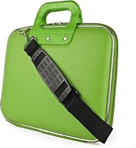 Cady Bag Collection Durable Semi Hard Shell Carrying Case with Removable Shoulder Strap for Laptops up to 15.45 inches, MacBook, HP, Lenovo, Acer, Dell