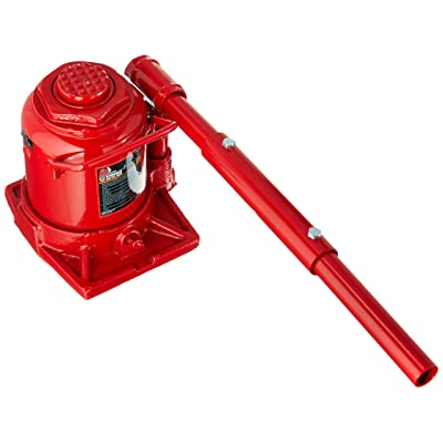 BIG RED T92007A Torin Low Profile Hydraulic Stubby Bottle Jack, 20 Ton (40,000 lb) Capacity: Automotive