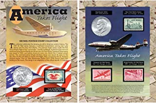 product image for America Takes Flight Coin & Stamp Collection