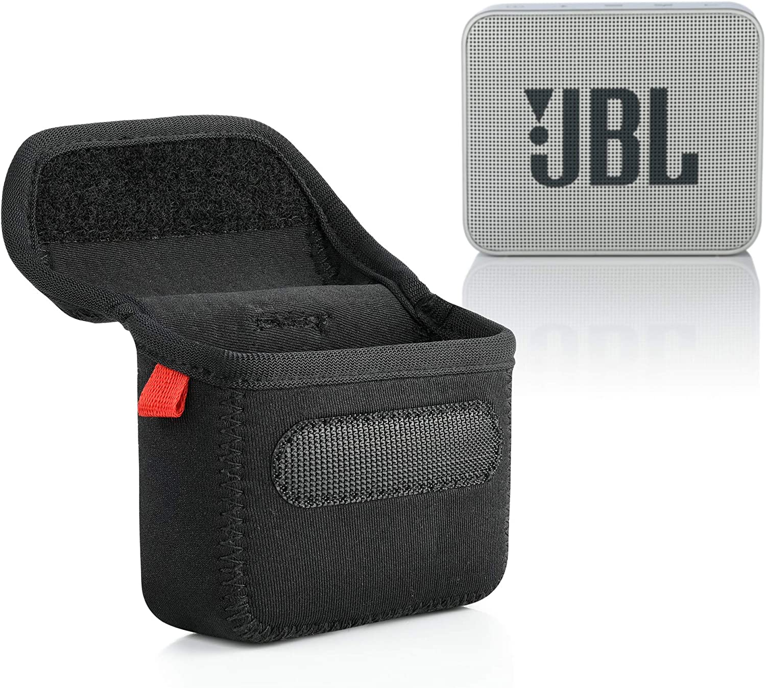 TXEsign Slim Water-Resistant Travel Carrying Case Bag Sleeve Cover Compatible with JBL GO 2 Portable Bluetooth Waterproof Speaker