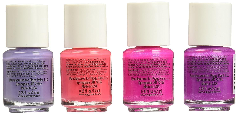 Amazon.com : Piggy Paint Non-Toxic Girls Nail Polish Safe, Chemical ...