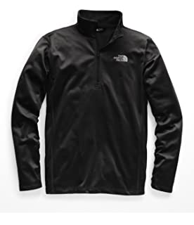 d9d90c0e1 The North Face TKA 100 Glacier Half Zip Fleece Mid-Layer Mens at ...