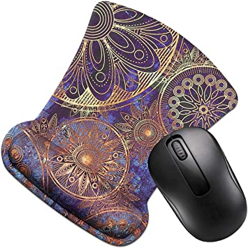Computer FF1 Non Slip Memory Foam Mouse Pad Wrist Support Wrist Rest for Office Durable /& Comfortable /& Lightweight for Easy Typing /& Pain Relief-Ergonomic Support Laptop /& Mac