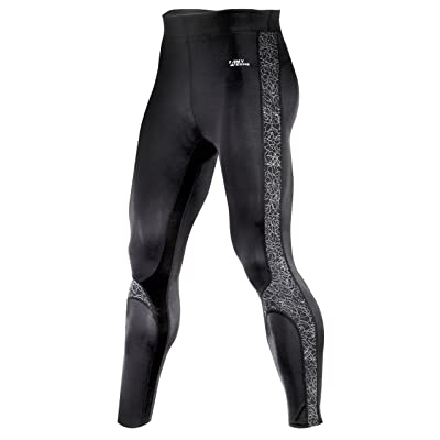 A.MYZONE Men's Functional Performance Grade Compression Tights