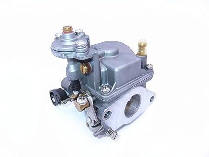 Boat Motor Carbs Carburetor Assy 66M-14301-11 66M-14301-00 66M-14301-11  66M-14301-00 for Yamaha 4-stroke 15hp F15 outboard motors