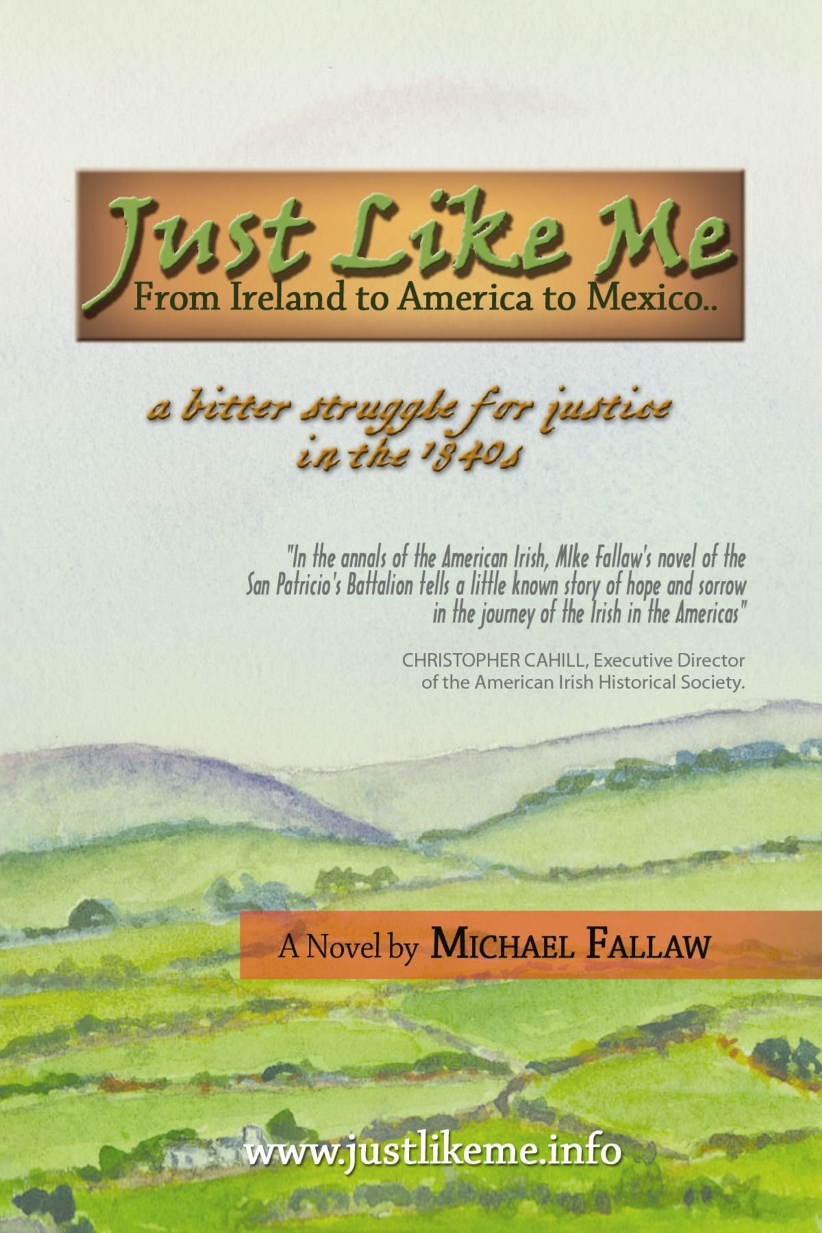 Download Just Like Me: From Ireland to America to Mexico pdf epub