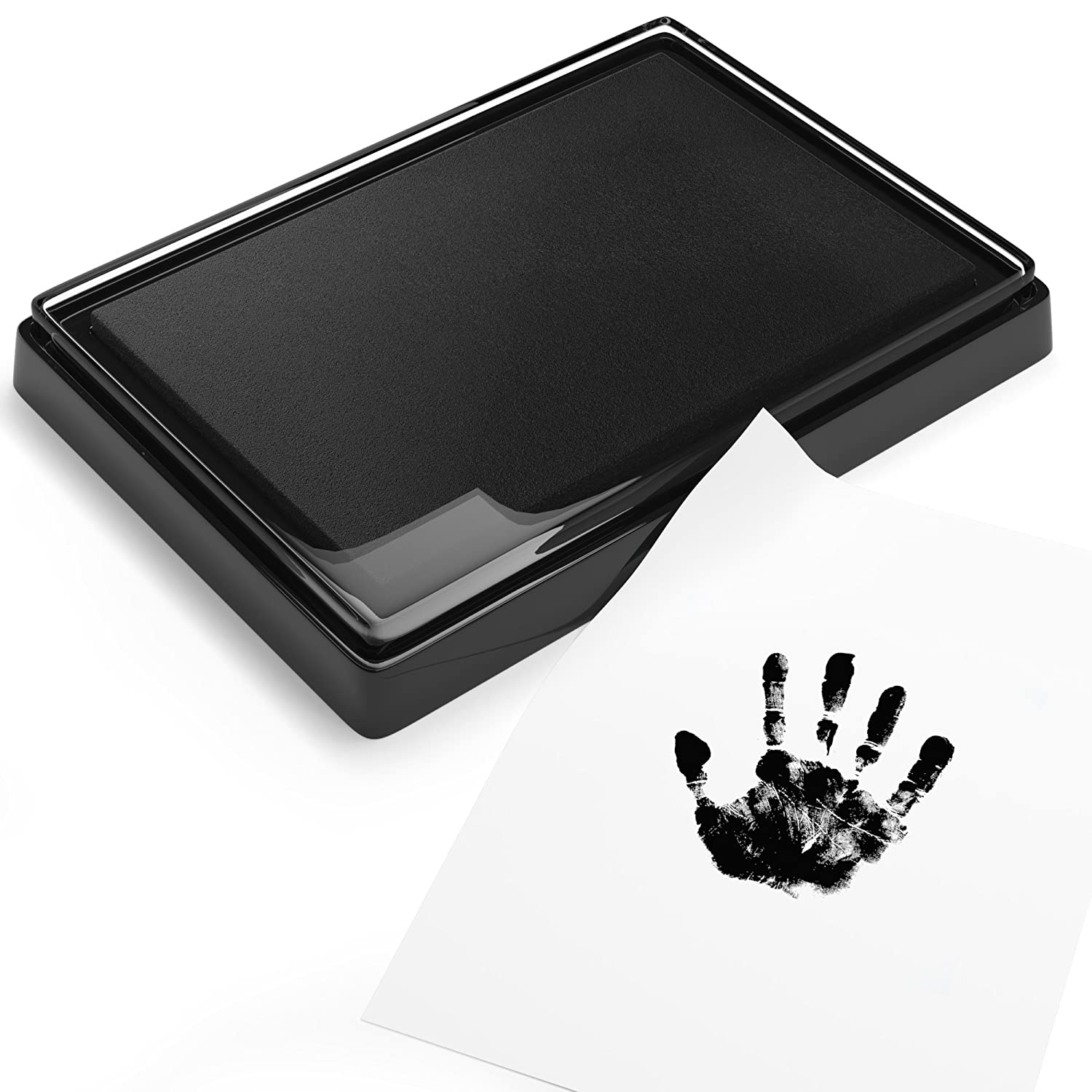 Baby Safe Print Ink Pad, Non-Toxic Baby Footprint and Handprint Kit, Keepsake Gifts to Cherish Baby's Memories, Multiple Uses Cameron Frank Products