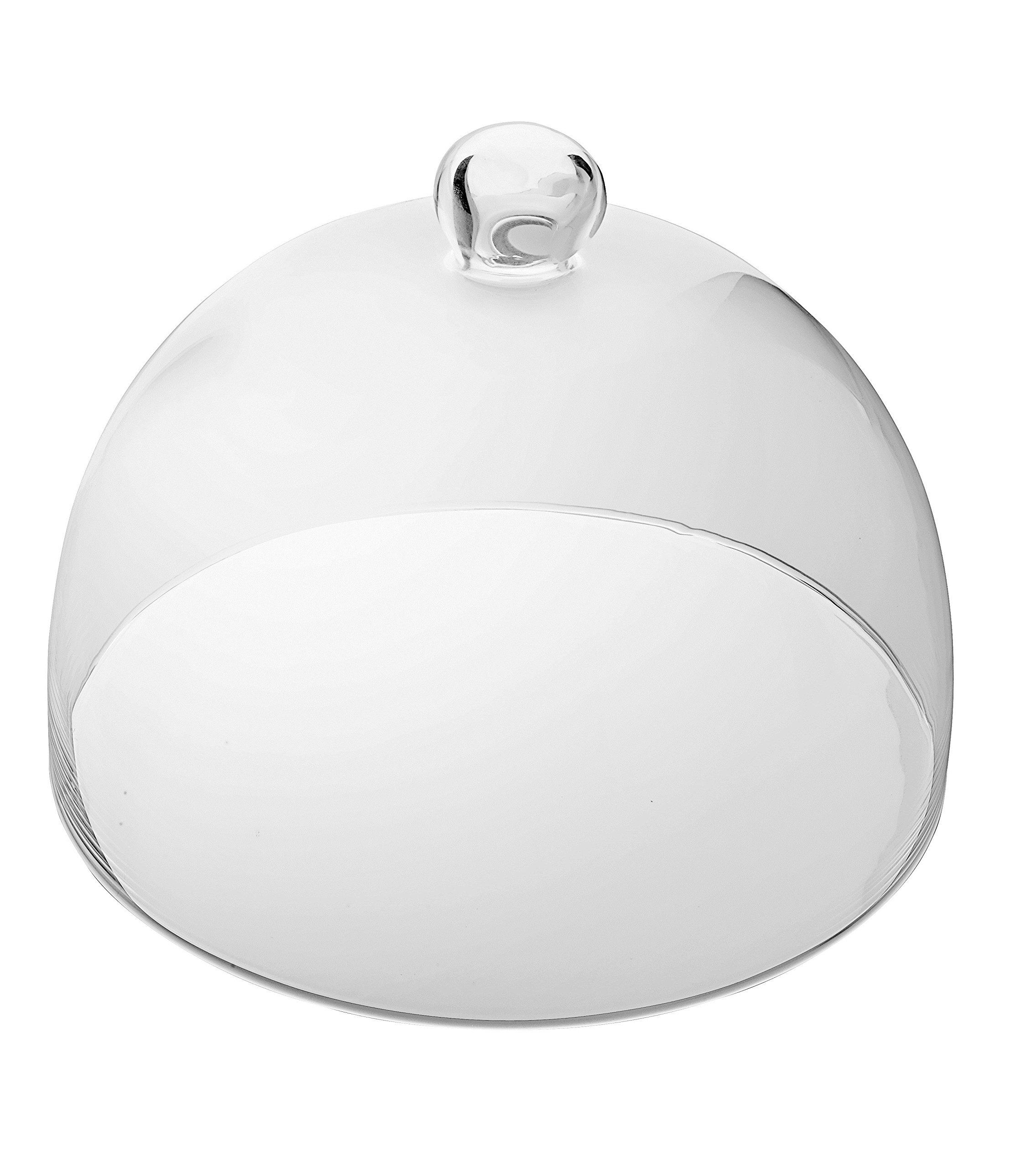 Barski - European - Handmade Glass - Cake Dome - 11'' Diameter - Made in Europe