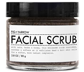 Can suggest organic facial scrub