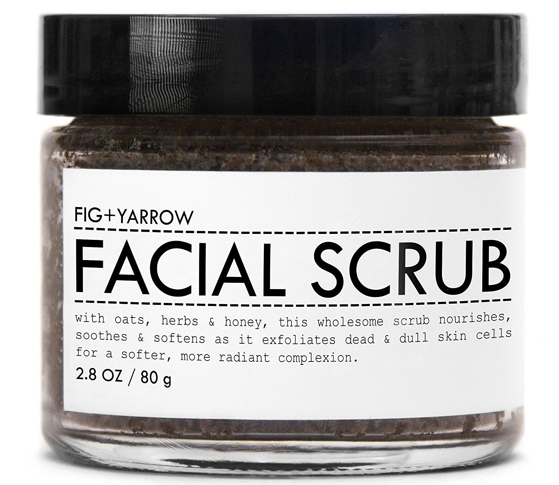 FIG+YARROW Organic Facial Scrub - 2.8 oz