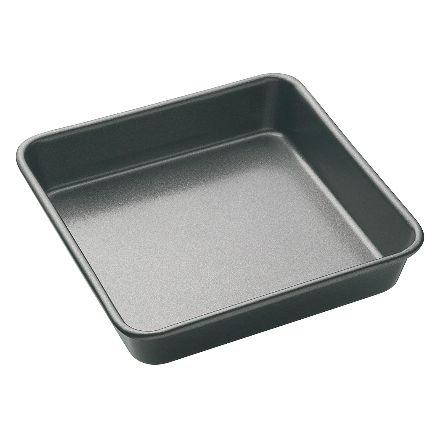 DEEP SQUARE CAKE TIN - Teflon Long Lasting British Standards - Cooking Bake Baking Equipment Oven Dishwasher with Easy Safe Clean Off Technology - Size is 22 x 22 x 8 (cm - Approx) - By Guilty Gadgets