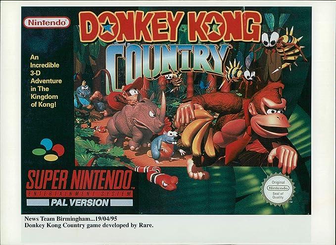 donkey kong for super nintendo