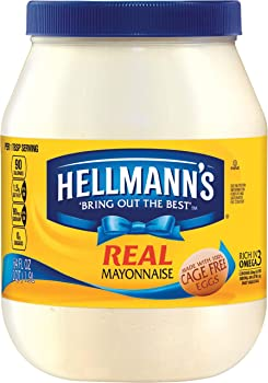 Hellmann's Real Mayonnaise Jar