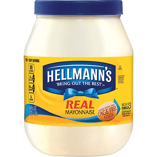 Hellmann's Mayonnaise, Real 64 oz