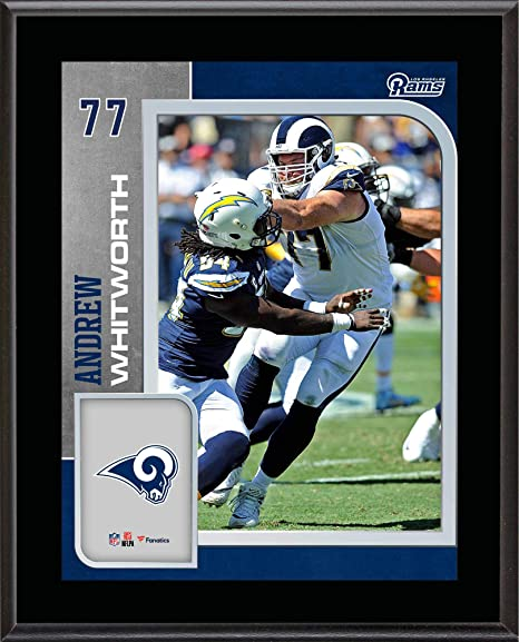 online retailer 5a6d8 3446d Amazon.com: Andrew Whitworth Los Angeles Rams 10.5