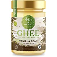 4th & Heart Grass-Fed Ghee Butter, Vanilla Bean, 9 Ounce