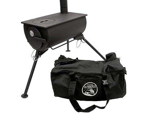 Estufa con bolsa de transporte gratuito Outbacker