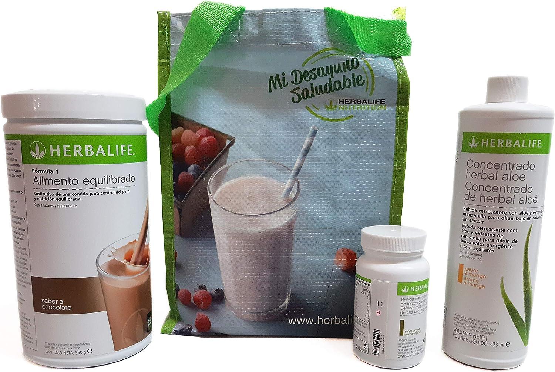 Herbalife Programa completo por perder peso - sabor chocolate ...