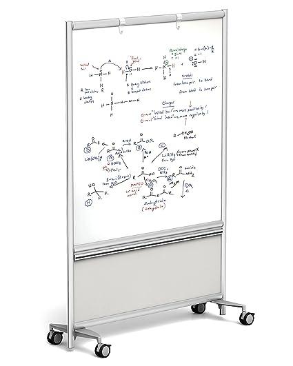 Amazon.com : Merge Works Large Mobile Dry Erase WHITEBOARD 49\
