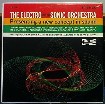 Amazon.com: DICK JACOBS The Electro-Sonic Orchestra vinyl ...