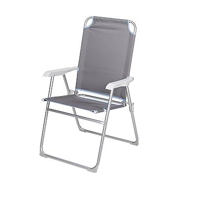 Campart Chaise de camping Travel CH-0525 – Polyester 400D – Entrée de gamme
