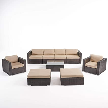 Amazon.com : Great Deal Furniture Kyra Outdoor 6 Seater ...