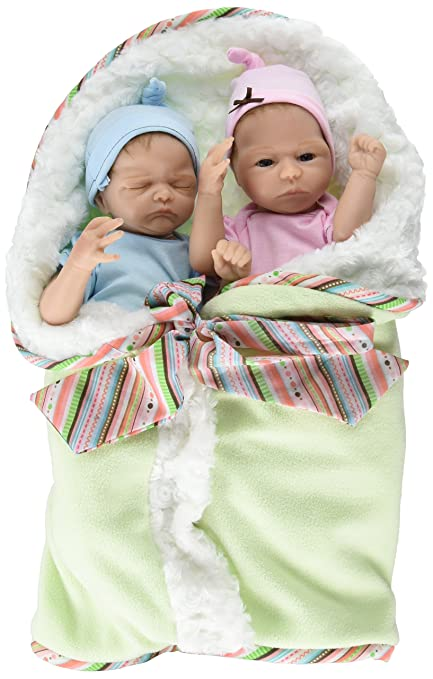 Ashton Drake u0027Madison and Masonu0027 - Poseable Lifelike Twin Baby Doll Set by  Donna