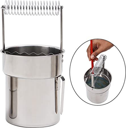 Artist Portable Brush Washer Art Paint Brush Washer Cleaner with Large Capacity Wash Tank /& Brush Organizer for Paint Brushes Cleaning and Drying