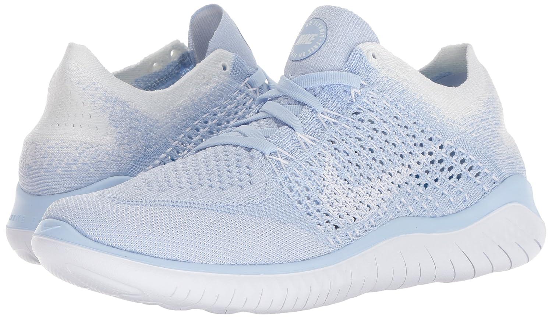 NIKE Women's Free Rn Flyknit 2018 M Running Shoe B00LYICTA6 6 M 2018 US|Hydrogen Blue/White White c7ea2b